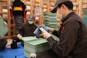 秋田空港を抗菌・抗ウイルス施工実施しました。
